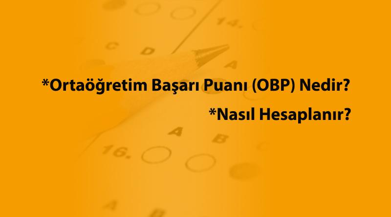 Besyo'da OBP Nasıl Hesaplanır?