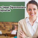 yüksek lisans yapan öğretmenlerin ücretlerinin artırılması