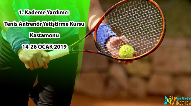 1. Kademe Yardımcı Tenis Antrenör Eğitimi Kursu | Kastamonu