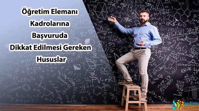 öğretim elemanı