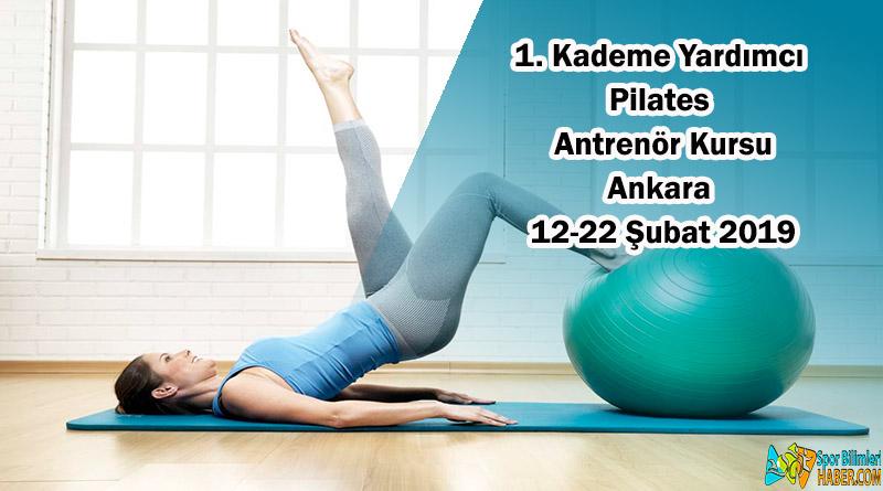 1. Kademe Yardımcı Pilates Antrenör Kursu