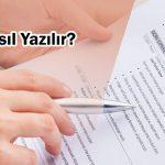 CV nasıl yazılır