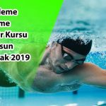Samsun ilinde yapılacak olan Yardımcı Yüzme Antrenörü Yetiştirme Kursu