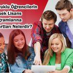 Yabancı Uyruklu Öğrencilerin Yüksek Lisans Eğitim Programlarına Kabul Şartları