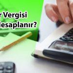 gelir vergisi hesaplamaları