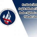 kırıkkale üniversitesi yüksek lisans ilanı