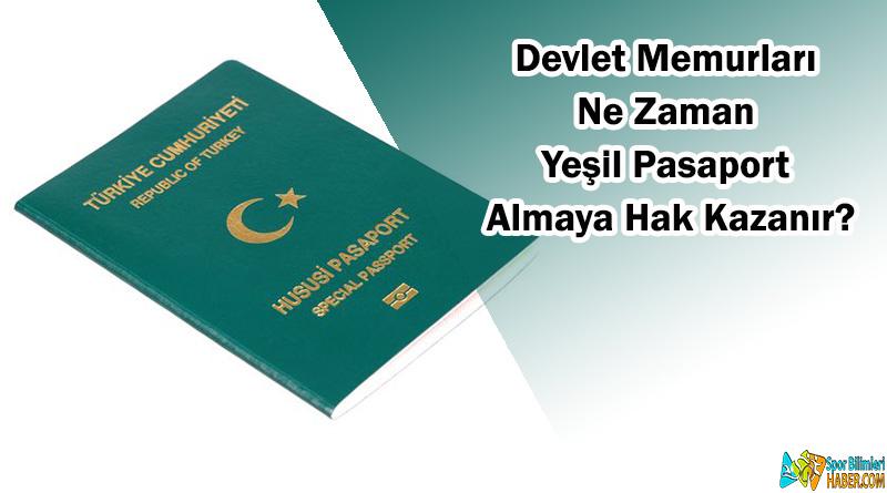 Hangi Memurlar Yeşil Pasaport Alabilir?