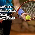 Yardımcı Tenis Antrenör Kursu