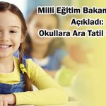 okullara ara tatil